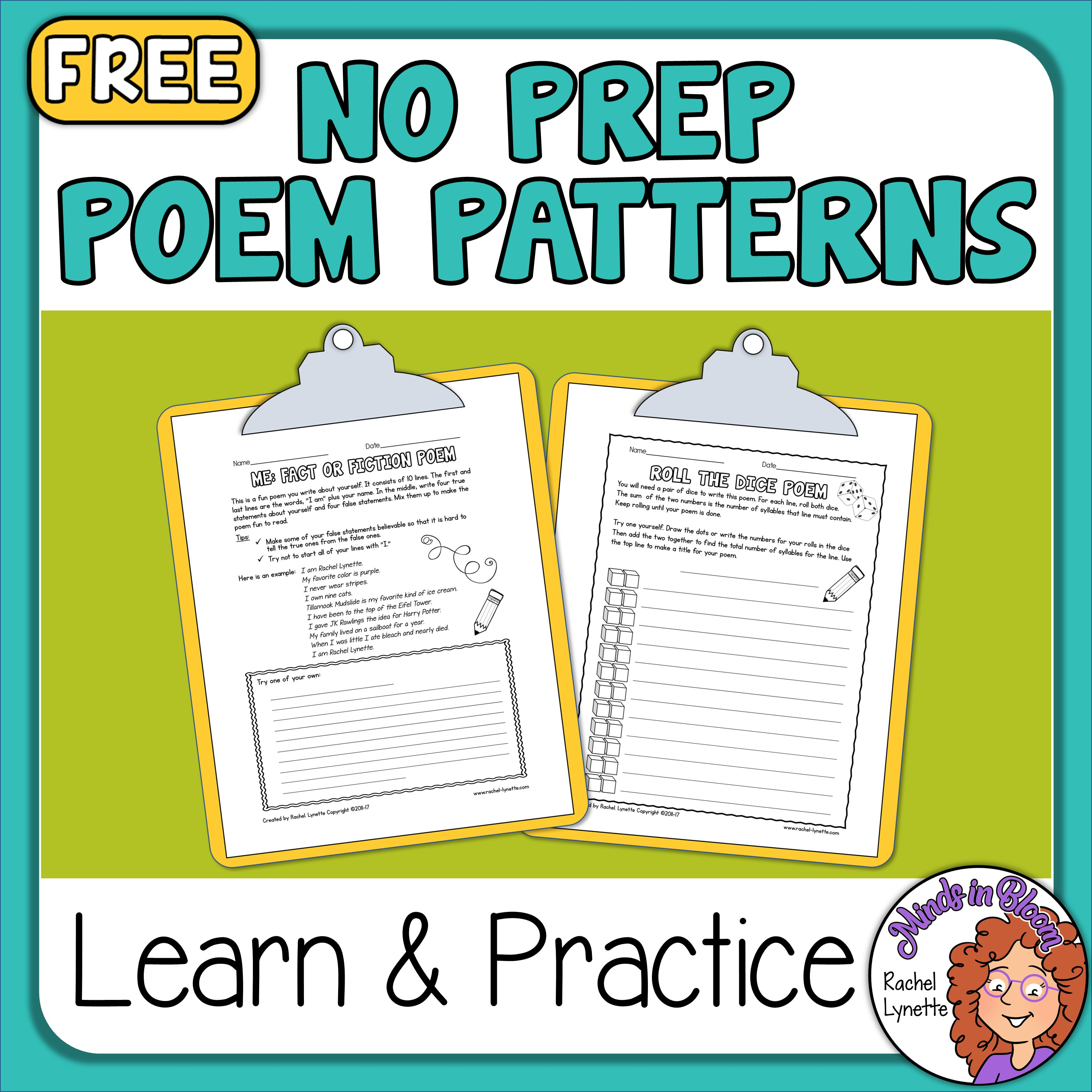 Two Fun Poetry Patterns Image