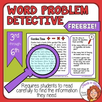 Word Problem Detective Image