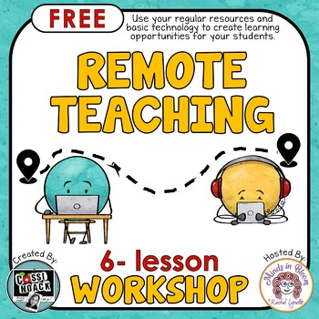 FREE Distance Learning Workshop to help you facilitate remote teaching Image