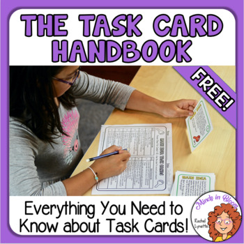Task Card Handbook: Everything You Need to Know - FREE! Image